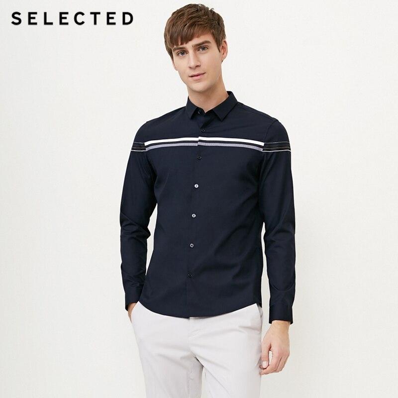 Men Black Long Sleeve Casual Shirt Two Wear Lotus Leaf Shoulder Loose Streetwear Hip Hop Punk