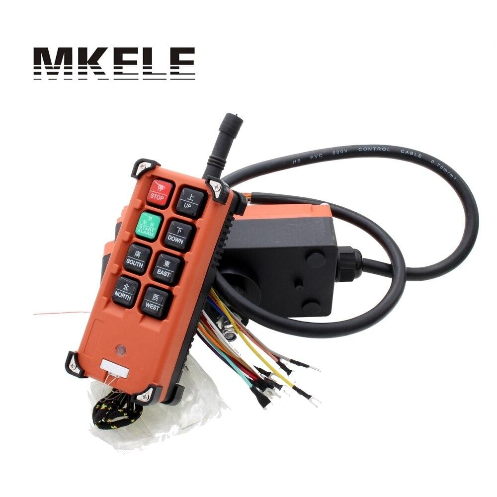 AC 220V 380V 110V DC 12V 24V Hoist remote controller switches Industrial Crane Control Lift Crane 1 transmitter 1 receiver