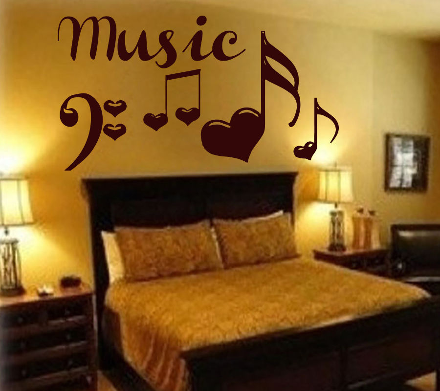Marvelous Wall Decals Music Decorations Vinyl Sticker Notes Decor Home Bedroom Art In  Wall Stickers From Home U0026 Garden On Aliexpress.com | Alibaba Group