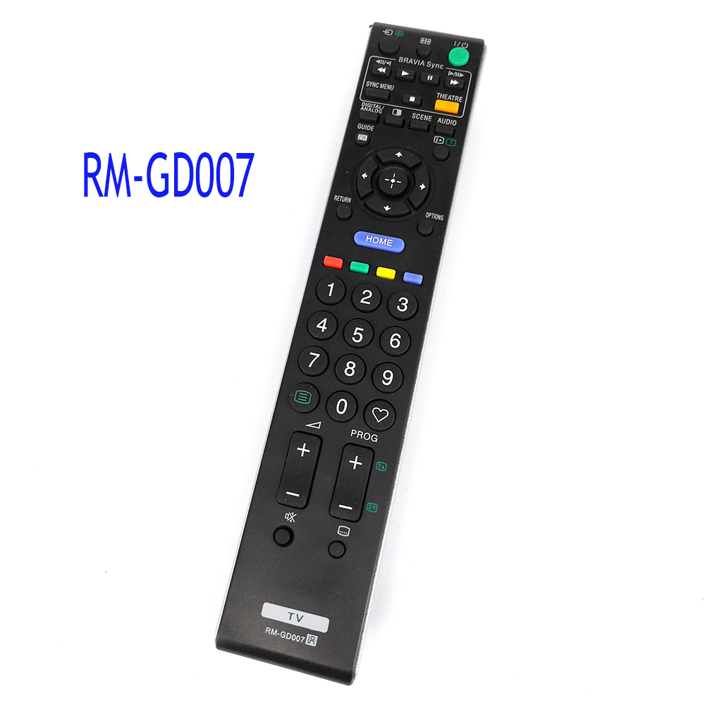 New Replacement RM-GD007 For Sony TV Remote Control For KDL-46V5500  RM-GD004 RM-GD009 RM-GD010 RM-GD011