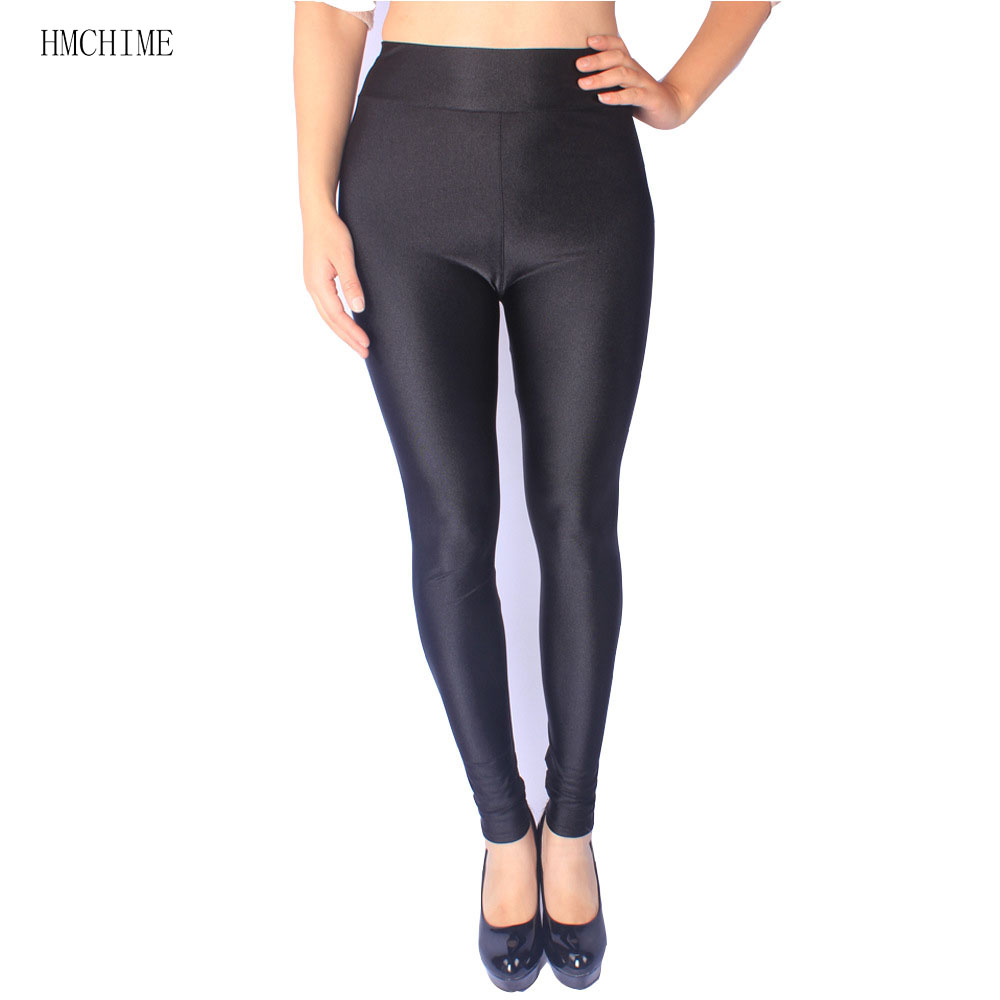 4a269b71eef9eb ZB-D009-1 High-elastic shiny women leggings plus size ladies work out pants  high waist trousers shine female stretch legging