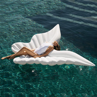 Inflatable Giant Butterfly Wings Pool Float Floating Row Raft Beach Loungers Ride on Toys Large Summer Outdoor For Adults Kids