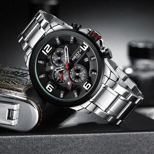 Image 3 - NIBOSI hommes montre Reloj Hombre 2018 hommes montres haut marque de luxe montre à Quartz grand cadran Sport étanche Relogio Masculino Saat