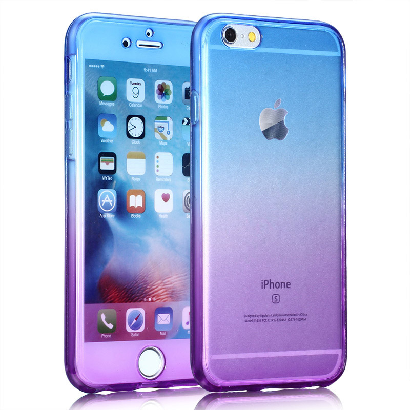 Kasatin Clear full cover silicone case for i6 6s (6)