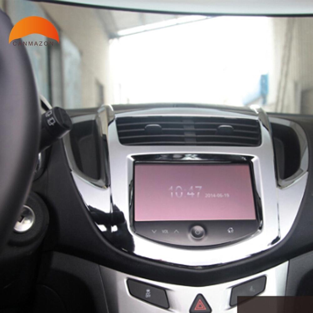 Us 25 76 17 Off For Chevrolet Trax 2014 2015 Abs Matte Auto Inner Center Console Trim Frame Decoration Interior Decorative Trim Accessories In
