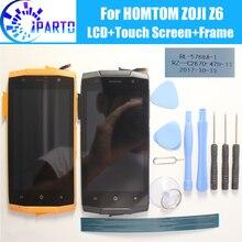 HOMTOM ZOJI Z6 ЖК-дисплей   сенсорный экран   рамка в сборе 100% Оригинальная ЖК-дигитайзер стеклянная панель для HOMTOM ZOJI Z6   Инструменты