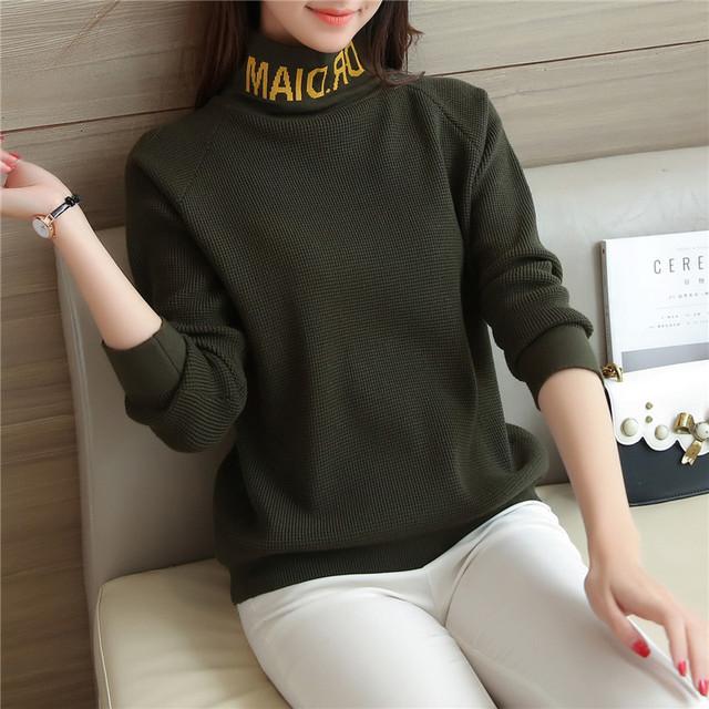 6743-nueva carta de cuello suéter de las mujeres 48