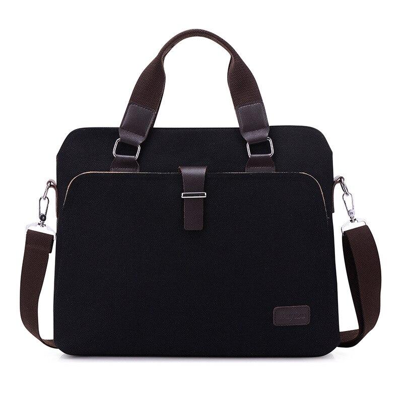 New computer bag, portable business canvas, retro leisure student, associate saber, multifunctional fashion big computer bag