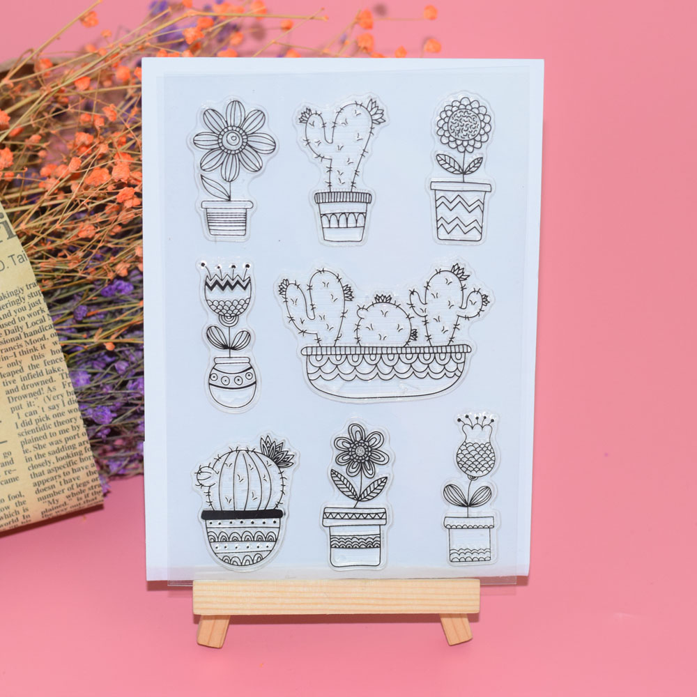 Ebay Motors Glorious New Transparent Silicone Clear Rubber Stamp Scrapbooking Diy Cute Pattern Photo Album Paper Card Decor Bathing Girl Stamp