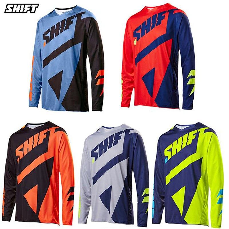 Prix pour Nouvelle vitesse à surmonter racing t-shirt à manches longues montagne vélo Jersey veste hommes d'été Motocross vêtements