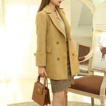 LYNETTE'S CHINOISERIE Spring Autumn Women Woolen Coat