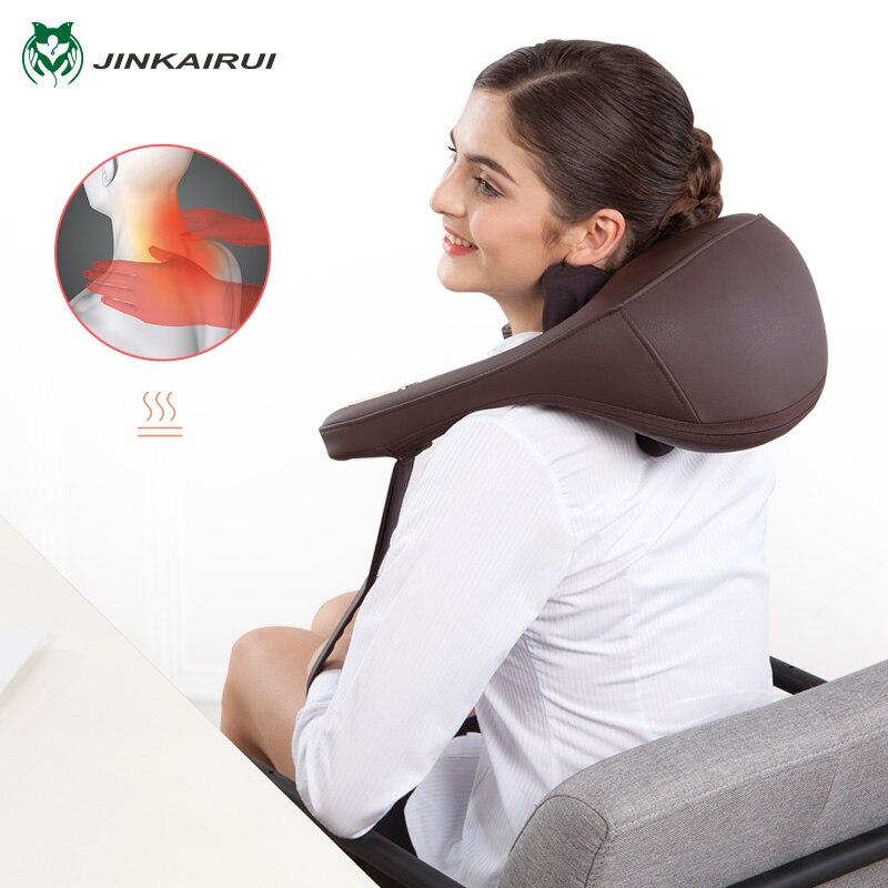 Антистресс Электрический массаж шеи и плеч подушки Malaxation бытовой зажим массаж шеи устройство Massageador инструмент для здоровья