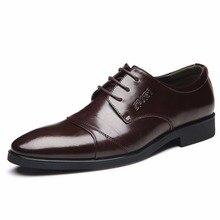 2017 neue Männer Oxfords Herren Kleid Leder Schuhe Trendy Chaussure Homme Weiche Zapatos Hombres Mode Männer Schuhe Plus Größe 37-47