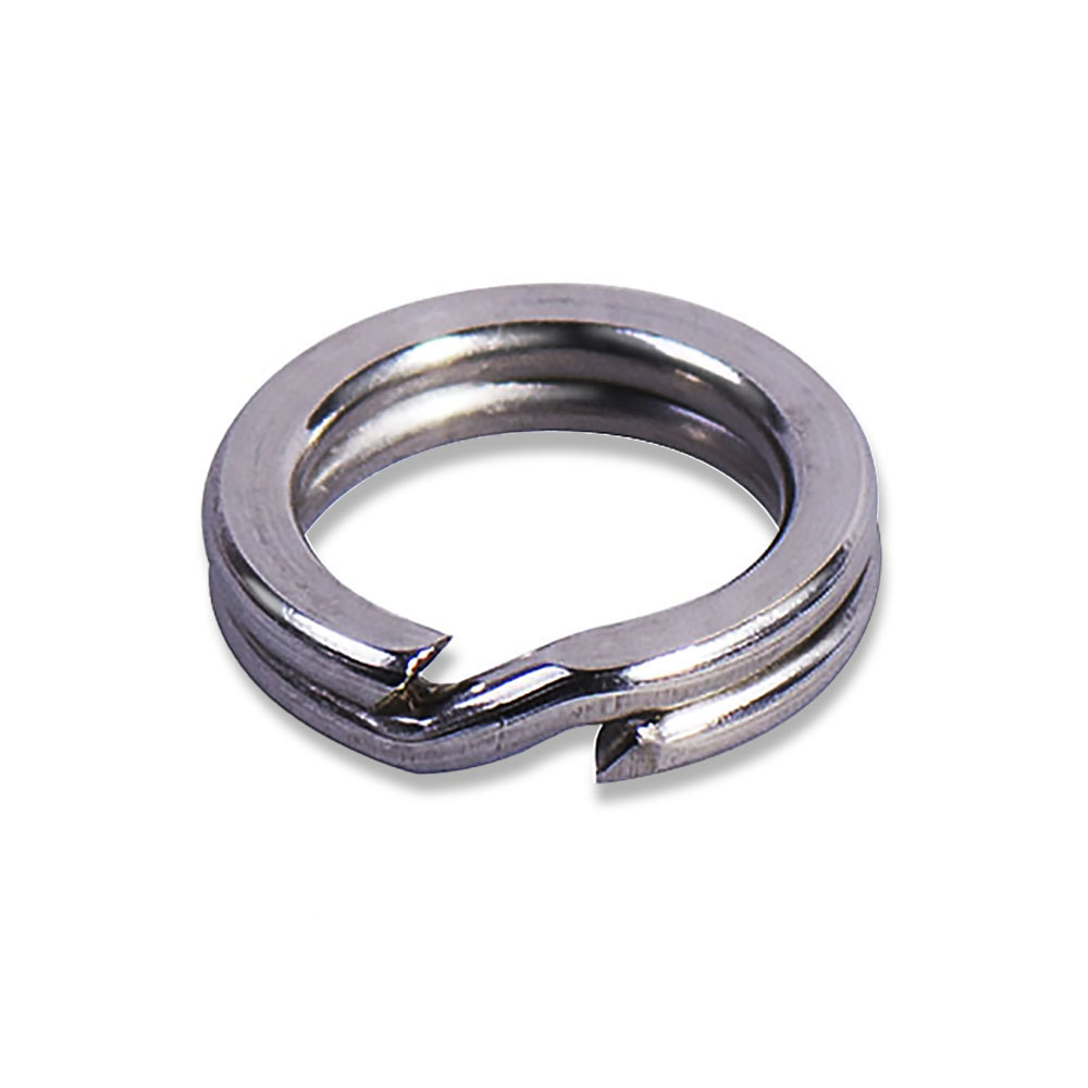 50pcs High duty stainless steel split ring Lure ring for blank hard bait, fishing accessories, parts, tackle craft 100 pcs pack stainless steel split rings for blank lures crank bait hard bait carp fishing tools double loop 4mm 5mm 7mm