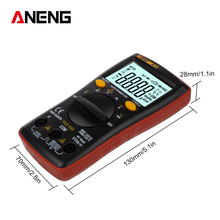 M10 True RMS Wave Output LCD Digital Multimeter 6000 Counts Backlight AC DC