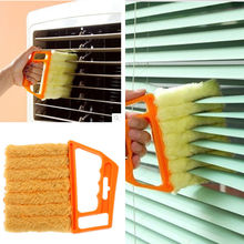 New Mini-Blind Cleaner Microfibre Venetian Blind Cleaning Brush Air Conditioner Duster Window Shade Shutters Wizard L260