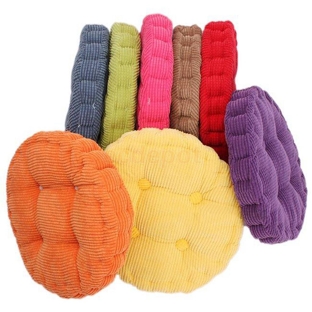 Round Cotton Home Car Office Chair Seat Cushion Pad Tatami Cushion Outdoor  Indoor Dining(China