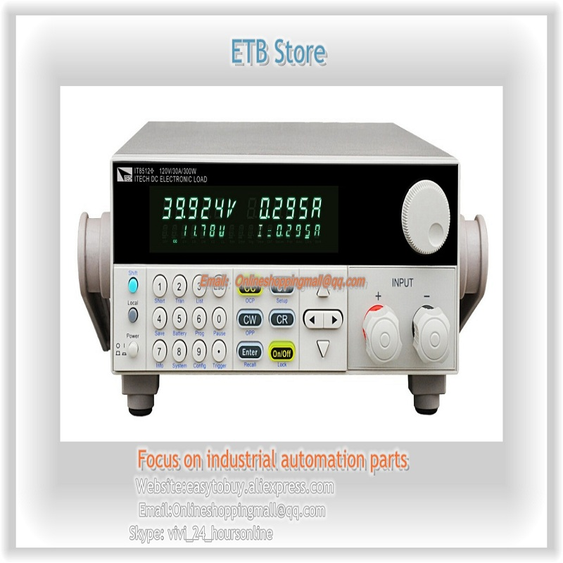New ITECH IT8512B+ DC electronic load Programmable 500V 15A 300W itech d605 b