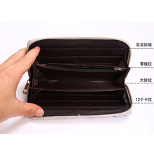 Death Note/Bleach/High School/LoveLive/Fairy Tail/Date A Live/Hatsune Miku PU Long Style Purse/Wallet with Zipper (31 style)