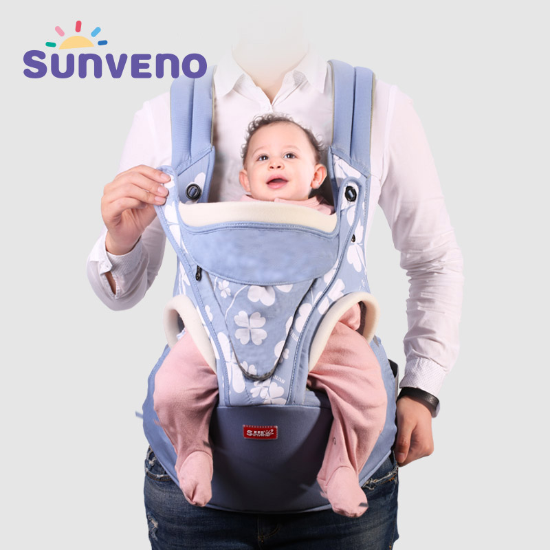 SUNVENO Ergonomic Baby Carrier Backpack Baby Carrier Sling Mochila Infantil Backpack Carrier Kangaroo Baby Bag Wrap Chicco baby carrier backpack