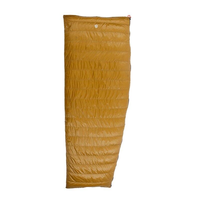 2 Degree Aegismax 800FP Goose Down Sleeping Bags Outdoor Camping Envelope Winter Autumn Sleeping Bag for