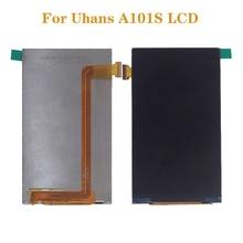 5.0 بوصة الأصلي ل Uhans A101 A101s شاشات كريستال بلورية الجمعية الهاتف المحمول اكسسوارات ل Uhans A101 A101s شاشة عرض LCD