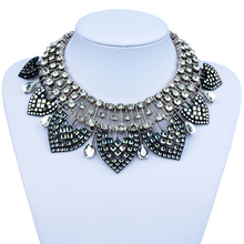 New Bohemian Statement Necklace Fashion Celebrity Style Punk Bib Necklace Women Gift Neckla