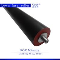 DI 2510 3510 3010 Lower Fuser Roller For Konica Minolta DI2510 DI3510 DI3010 Compatible Pressure Roller Photocopy Machine