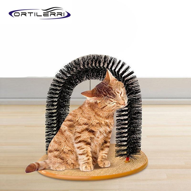 Dog Rubbing Ears On Rug: Ortilerri Stainless Steel Height Carpet Cloth Cat Dog Rub