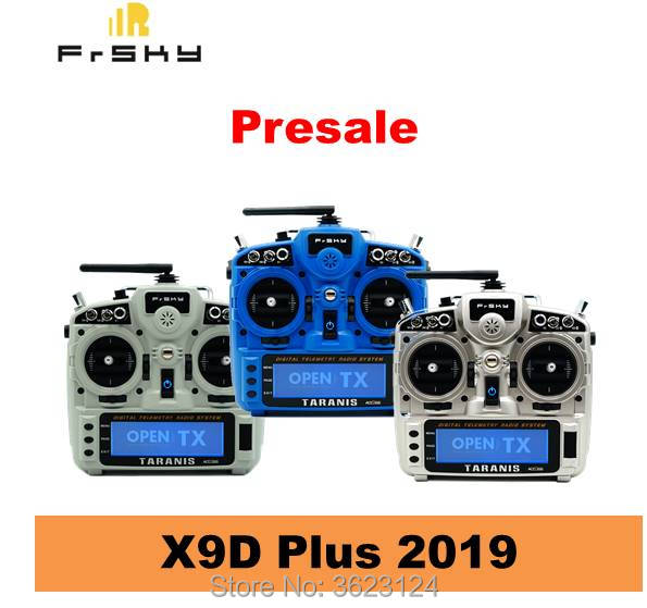 Presale Frsky Taranis X9D Plus 2019 Transmitter 2 4GHz Remote Controller for RC FPV Multirotor Racing