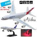 1: 400 авиационных сплавов, высокая моделирования модель самолета, литой металлическая игрушка вытяните назад функции, бесплатная доставка