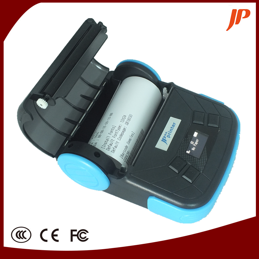 Free High Quality 80MM protable thermal USB mini printer support Windows Mobile, WINCE, Android Bluetooth printer for project mtp 3 small portable bluetooth thermal printer 80mm sticker printer ticket printer support andrews apple phone 1pc