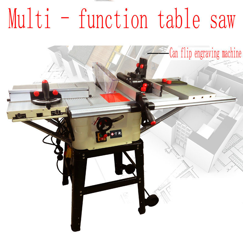 Home Multifunction Woodworking Saw Sawing Engraving Machine Disc Plate Sawing Woodworking Tools mobile sawing