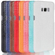 For Samsung Galaxy S8 G9500 phone bag case For Samsung Galaxy s 8 Luxury Crocodile Skin PU leather Case Cover Samsung S8 5.8'' стоимость