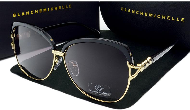 HTB1QEQrcr3XS1JjSZFFq6AvupXa1 - Blanche Michelle 2018 High Quality Square Polarized Sunglasses Women Brand Designer UV400 Sun Glasses Gradient Sunglass With Box