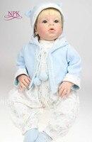 NPK реалистичные около 28 70 см ручной работы реалистичные для новорожденных Кукла реборн мягкий силиконовый виниловые игрушки подарок для де