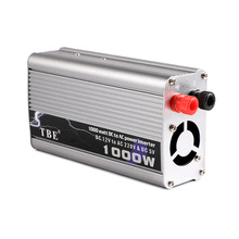 цена на 1000W TBE Hot Sale Car Power Inverter DC 12V To AC 220V 1KW Modified Sine Wave Power Inverter With Cigarette Lighter For Cars