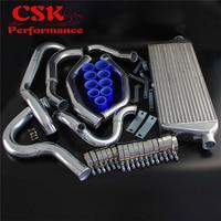 Upgrade High Performance Intercooler Kit Fits For Subaru WRX Impreza GDA GDB 00 05 Blue / Red / Black