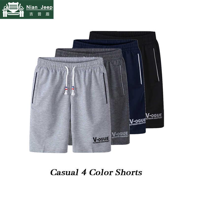 Talla grande 2019 pantalones cortos casuales de verano para hombre moda 4 colores paquete venta Outwear pantalones cortos para hombre Joggers cortos para hombre