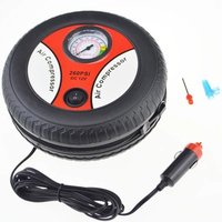 Car Inflation Inflatable Pump Air Compressor Mini Tire Design 12V Input Voltage Electric Inflating Machine Suitable