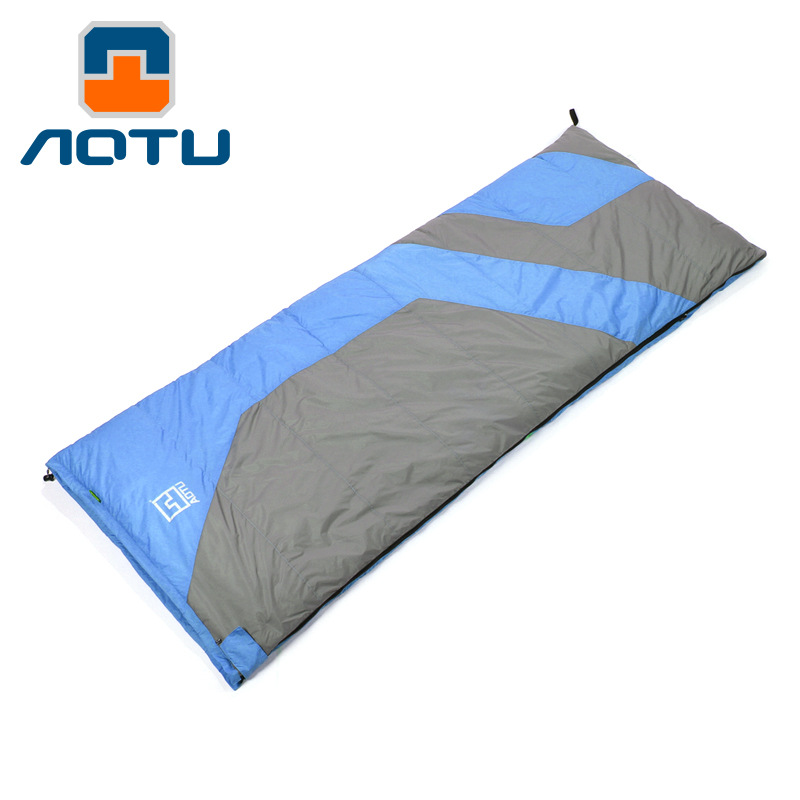 Outdoor Envelope Type Super Light Duck Down Sleeping Bag Adult -25 Degrees Fall And Winter Camping Sleeping Bags AT6116 210t polyester plaid sleeping bag winter sleeping outdoor camping sport adult envelope type cotton splicing single sleeping bags