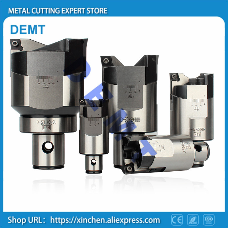 Mechanical Milling Machine CNC High-precision rough boring tool,BT40 BT50 RBH19mm-164mm double-edged rough boring tool for CCMTMechanical Milling Machine CNC High-precision rough boring tool,BT40 BT50 RBH19mm-164mm double-edged rough boring tool for CCMT