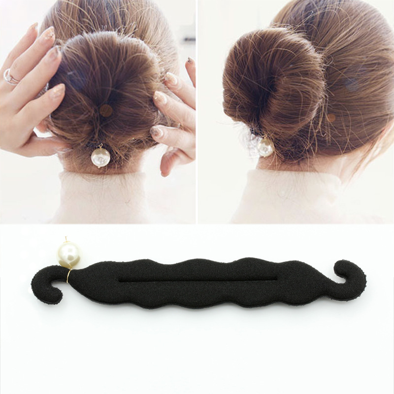 1pc Donut Magic Hair Bun Maker Twist Tool Hair Styling