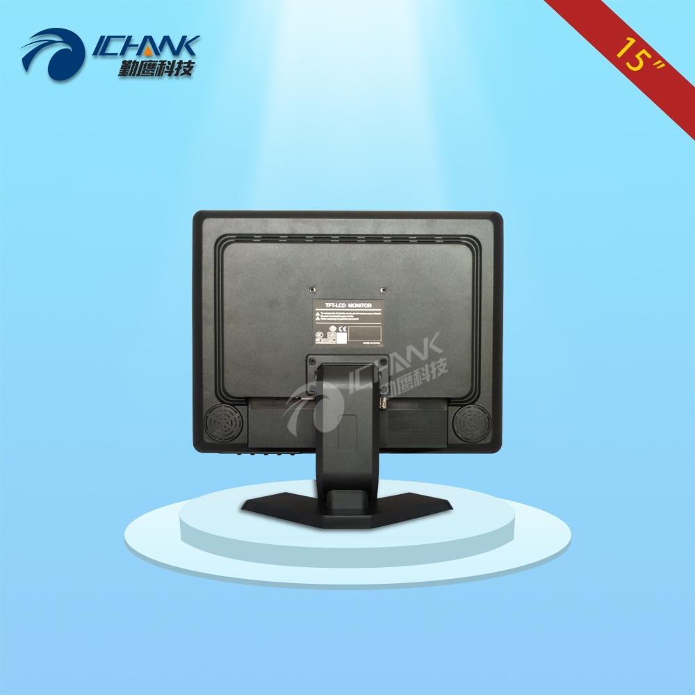ZB150JN-B4V/15 inch 1024x768 4:3 portable four BNC VGA interface split screen remote control security monitor LCD screen display