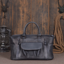 Shoulder Messenger Bags Retro Genuine Leather Lady Female Fashion Women Vintage Style Hand Bag Laptop  Designer Leather Handbag 2017 popular hand carve china vintage genuine leather womens bags