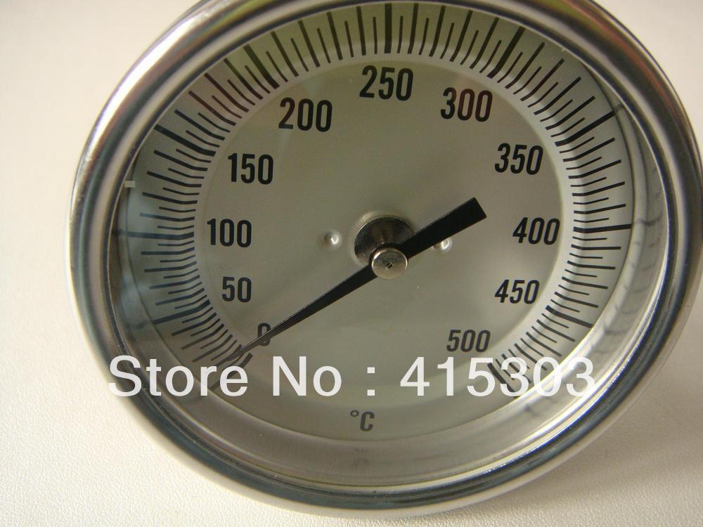 Super Sale #a301 6*100mm Industrial Bimetal Thermometer