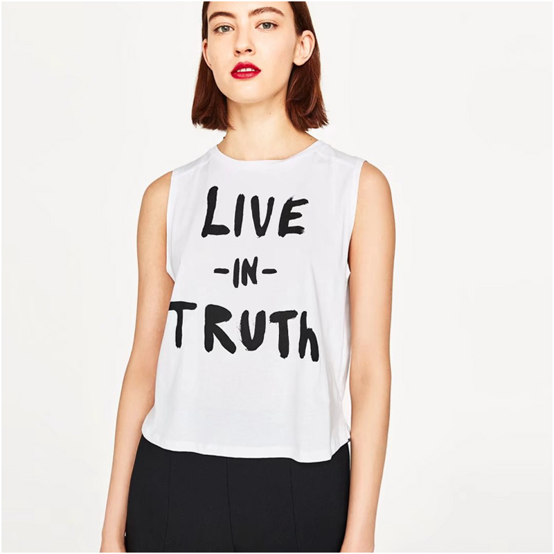 cce96119c NYMPH LIVE IN TURTH Letters Print Women tshirt Cotton Casual t shirt For  Lady Girl Top Tee Hipster T shirts