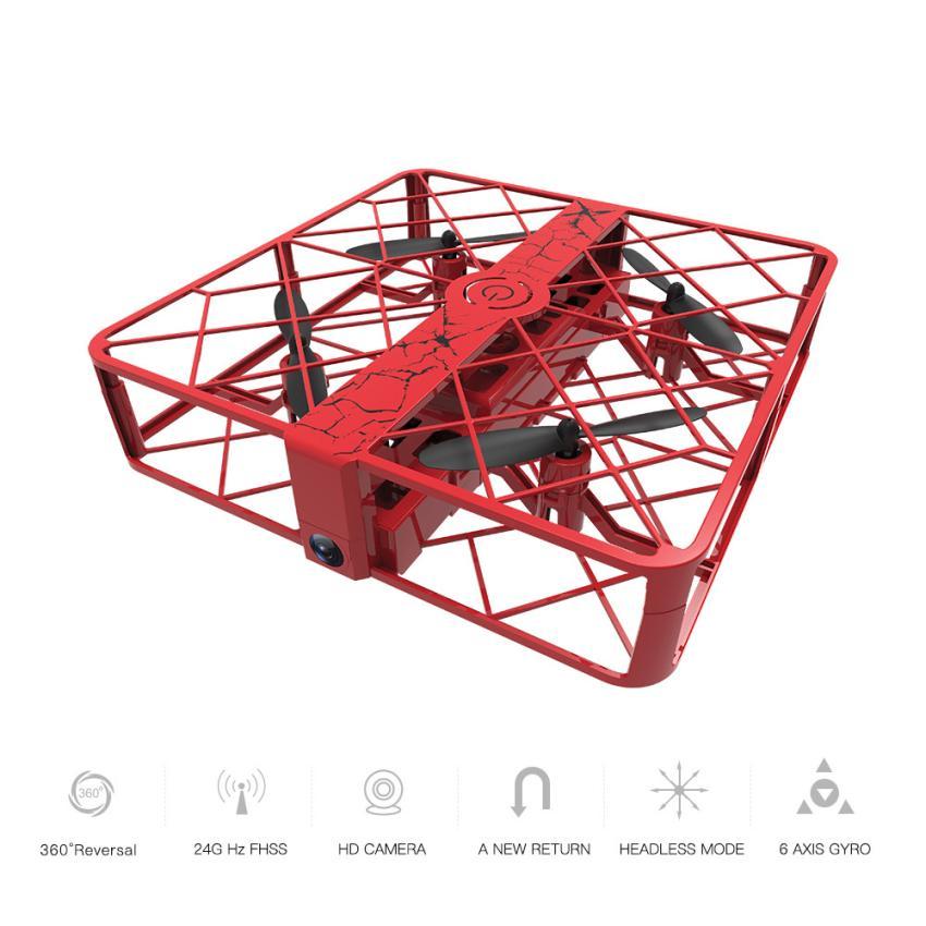 Камера RC Quadcopter пульт дистанционного Z8 RC Мини Drone 0.3mp Wi-Fi 2.4 г 6 оси высота Удержание НЛО Quadcopter Карманный Дрон 12.29