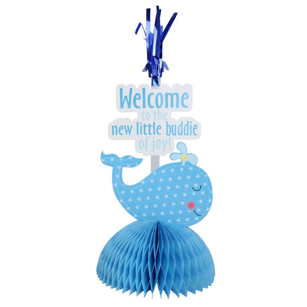 Entzückende Wal Baby Dusche Waben Herz Tabelle Decor Geburtstag ...