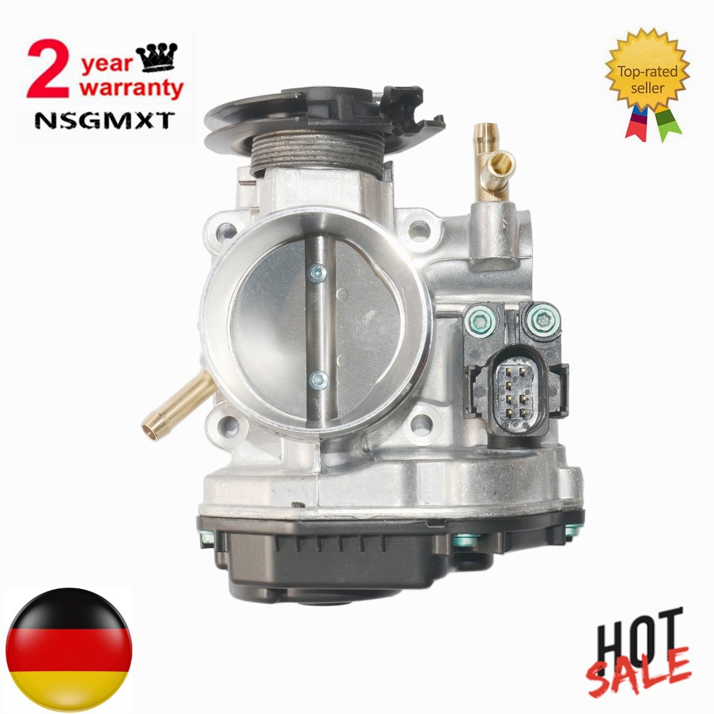 New Throttle Body For Audi A3 VW Derby Bora Golf Seat Ibiza Leon Toledo Skoda Octavia 1.6 1.8L 1998-2007 06A 133 064 J 06a133063g 06a 133 063g 408237212007z for audi a3 skoda octavia volkswagen bora golf iv variant throttle body assembly